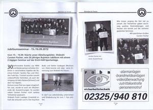 Bericht zum Jubiläum ( 20 Jahre Bujinkan ) von Carsten Fischer ( Herne)