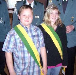 Königspaar 2010 - Hendrick Schneider & Swantje Nothelfer