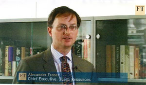 Alexander Fraser de LegsResources explique.... (en anglais....)