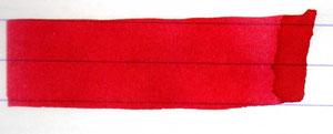 Sehr ähnlich und auch zu orange abgebildet: die de Atramentis Rubinrot
