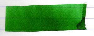 Tintenausstrich Kaweco Grün (Faßtinte)