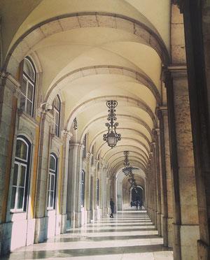 Beautiful architecture in Lisbon