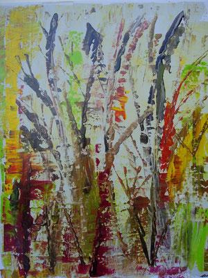 """""""Frühling"""", Acryl auf Lwd.,40x50, 2011  Nr.:11101"""