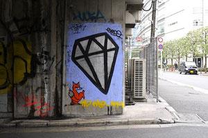 渋谷駅高架下。このダイヤは残っているだろうか