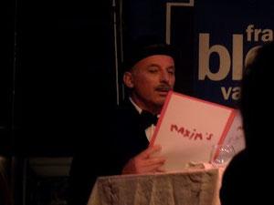 Didier, vainqueur de la catégorie sketches ...