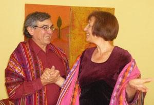 Daria und Nicolás León