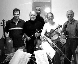 Kammermusik mit eigenem Streichquartett