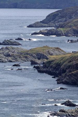 les highlands , la côte ouest