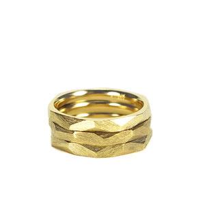 Lovestory Stapelringe in Gold