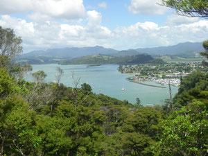 Blick auf Whitianga