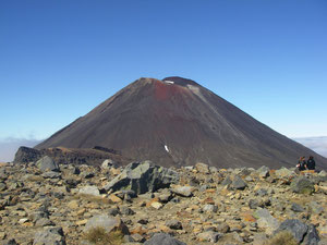Tongariro National Park - am red crater