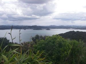 Blick vom Flagstaff-Hill über die Bucht nach Paihia