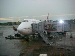 Zwischenlandung in Singapur