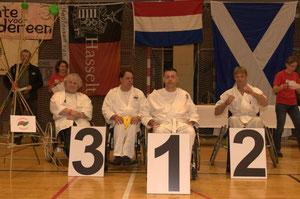 1ste Kampioenschap G-karate was een succes!