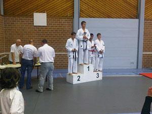 Oost Vlaams Kamppioenschap Berlare 10 oktober 2011 Nikolaas Garbar  3de plaats
