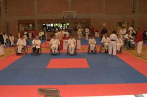 G-karate voor rolstoelen of rollers
