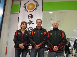 Verantwoordelijken voor G-karate Vlaanderen en Limburg Eric Bortels, Oost Vlaanderen Martine Demeyer en West Vlaanderen Jethro Trappeniers