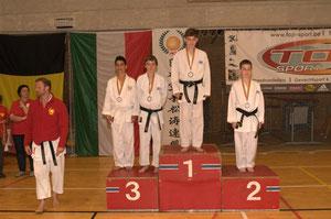 Peter 3de in Belgisch Kampioenschap JKS