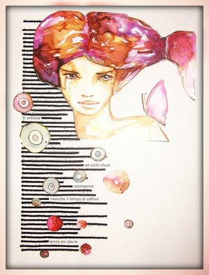 Un Caviardage di Mara, dal testo di una canzone dei Modà.