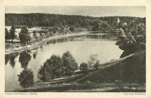 Vilnius. Trinapolis ir Verkiai. Nuotr. J.Bulhako. 1922m. Serija II, Nr.11 / Vilnius. Trinapolis and Verkiai. Photo. J. Bulhak. 1922 Series II, Nr. 11
