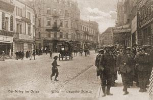 Vilnius. Vokiečių gatvė / Vilnius. Vokiečių street