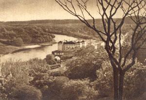 Vilnius. Neris ir Sluškų rūmai. Nuotr. J. Bulhako / Vilnius. Neris and Sluškų palace. Photo. J. Bulhak