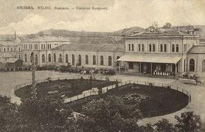 Vilniaus geležinkelio stotis / Vilnius railway station