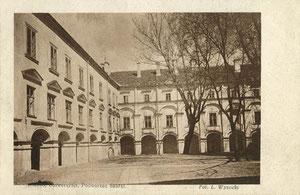 Didysis P. Skargos kiemas. Foto L. Visockio / Grand P.Skarga courtyard. Photo L. Visockis