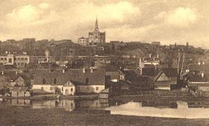 Naujoji Vilnia. Miesto vaizdas. 1917-XI-06 / New Vilnia. City view. 1917 XI 06