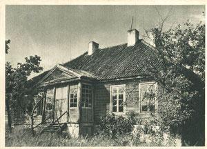 Vilnius. Paupio g. Čia 1895m. gyveno F. Dzeržinskis. Nuotr. Ch. Levino / Vilnius. Number 26 Paupio Street. F. Dzerzhinsky lived there in 1895. Photo by Ch. Levin