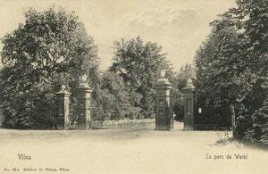 Vilnius. Verkių parkas. Leid. D. Visunas Nr.62a / Verkiu park. Publisher D.Visunas
