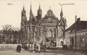 Šv.Onos ir Bernardinų bažnyčia / St. Anna's and the Bernardine Church