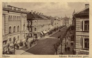 Adomo Mickevičiaus gatvė / Adomas Mickevičius street