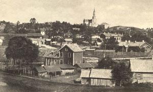 Naujoji Vilnia. Bendras vaizdas. Apie 1918m. / New Vilnia. Overview. About 1918