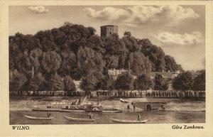 Vilnius. Pilies kalnas. Leid. A. Fialko / Castle hill. Publisher A.Fialko
