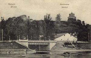 Vilnius. Antakalnis / Antokol. N 76 Edition A. Fialko. Vilna