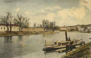 Vilnius. Neris /  River Neris