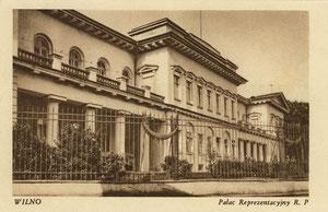 Vilnius. Reprezentaciniai rūmai. Leid. A. Fialko / Vilnius. Palace of the Representatives. Publisher A. Fialko