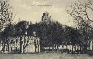 Vilnius. Pilies kalnas / The castle hill in Vilnius