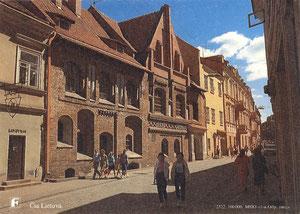 Vilnius. Senamiestis. Gorkio gatvė. Autorius nežinomas / Vilnius. Gorkis Street. Unknown author.