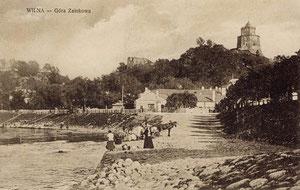Vilnius - pilies kalnas / The castle hill in Vilnius