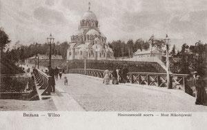 Vilnius. Nikolajaus tiltas. 1906m. Leid. D. Visunas /...