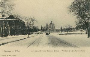 Vilnius. Antakalnis. Šv. Petro ir Pauliaus bažnyčia / Antakalnis. St. Peter and St. Paul's church