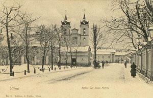 Vilnius. Šv. Kryžiaus bažnyčia. Leid. A. Fialko Nr.8 / St. Cross Church. Publisher A. Fialko