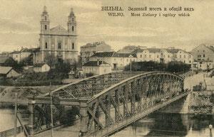 Vilnius. Žaliasis tiltas ir bendras vaizdas / The Green bridge and overview