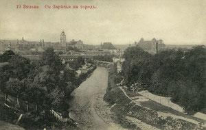 Vilnius. Miesto vaizdas nuo Užupio / City view from Užupis