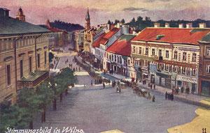 Atvirutė. Kahan & Co. Berlin SW. Rotušės pastatas / Postcard. Kahan & Co. Berlin SW. Rotušės premises