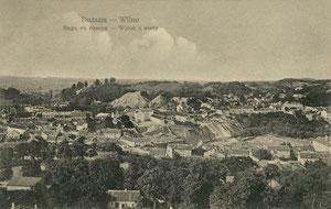 Vilnius. Vaizdas nuo bokšto. Leid. K. Rio / View from tower. Publisher K.Rio