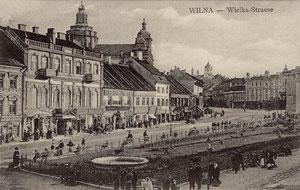Vilnius. Didžioji gatvė / Didžioji street