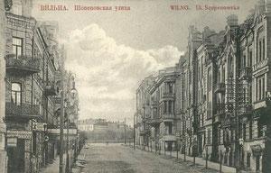 Vilnius. Šopeno gatvė / Chopen street